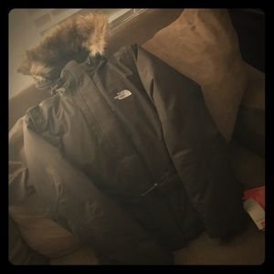 North face winter down jacket. NWT